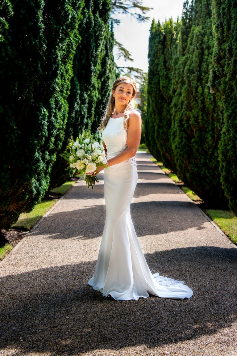 Stunning bride at the Grove Hotel